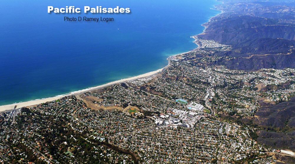 photo - Palisades aerial