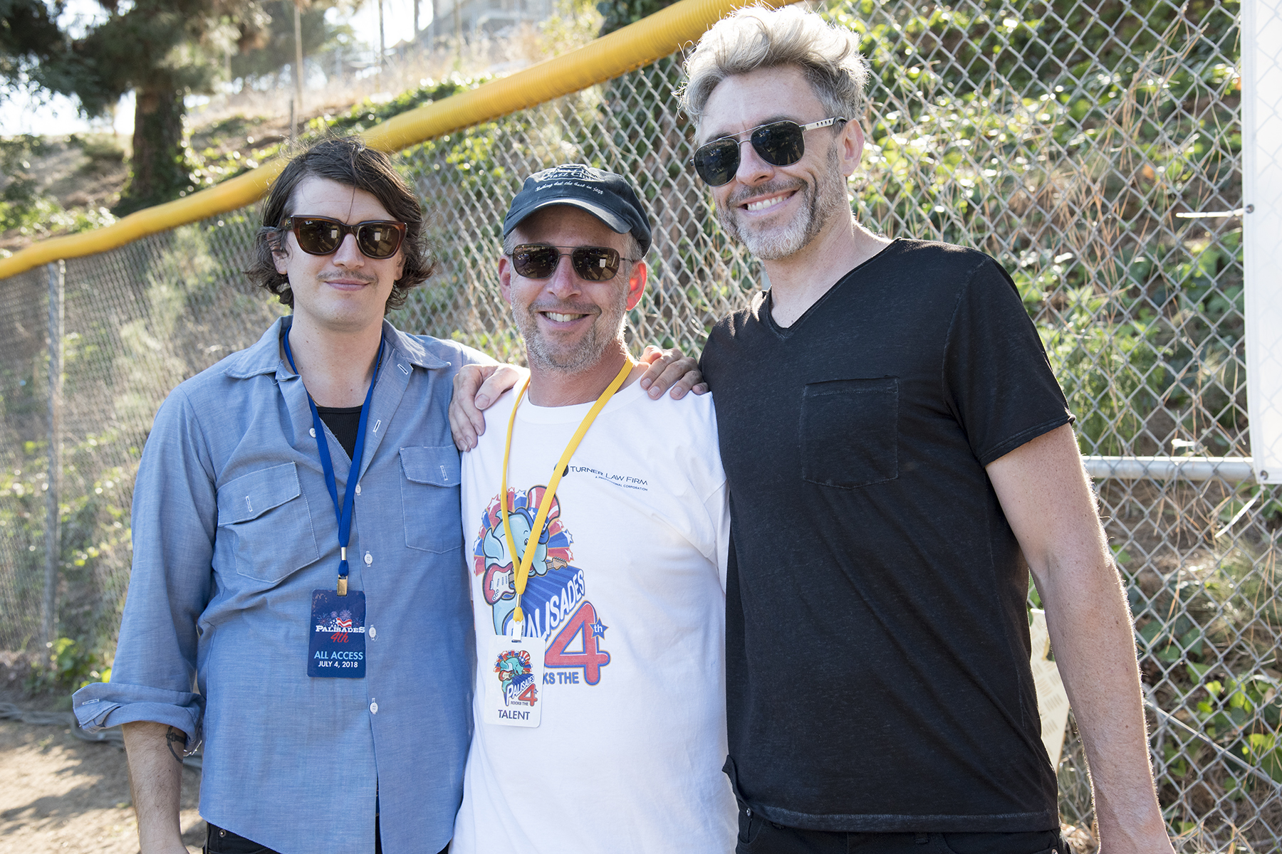 2018: the Chicago boys - Dylan, Keith and Tom